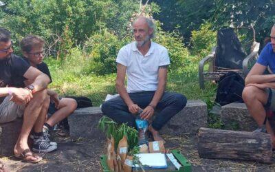 Wykład o uprawie konopi na festiwalu Wolimierz 2020